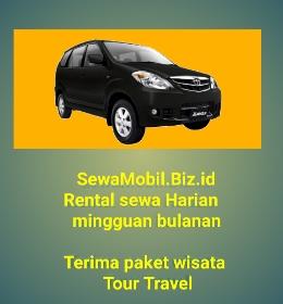 Harga Rental Sewa Mobil di Tanjung Sari